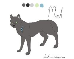 Mink Ref Sheet by BlueMaroon