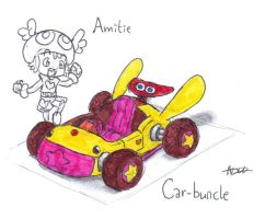 Amitie, Car-Buncle concept by CyberMaroon