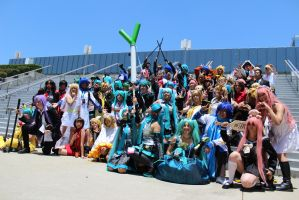 Vocaloid - AX 2012 by AtomicBrownie