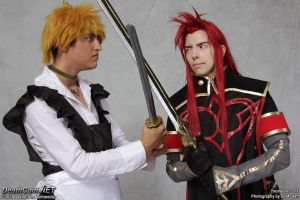Youmacon 2011: Good Maid Guy and Asch Battle II by Ritzy-kun