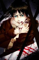 Snk: Eren Jaeger by lead-and-imagination