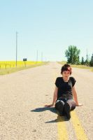Alyssa and the canola fields13 by Sec0ndHeartbeat