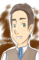 Detective Milles Johnson by foxy-tonto