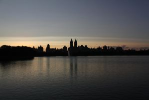 New York from Central Park by Citron--Vert