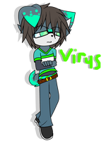 Virus :new o.c: by GlichieVirus