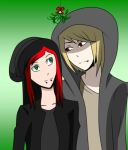IggyAka Under the Mistletoe by VampireDiclonius