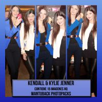 Photopack 271: Kendall and Kylie Jenner by PerfectPhotopacksHQ