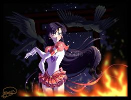 Eternal Sailor Mars by foogie