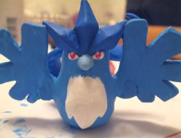 Articuno Keychain by Hikara-Productions