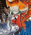 Page Pets Double Sided Animal Bookmarks by Octobertiger