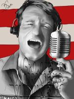Robin Williams. Good Morning Vietnam by Gem88