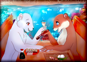 Sushi Time by littlepolka