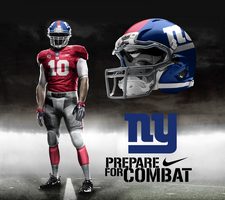 New York Giants Red Alternate by DrunkenMoonkey