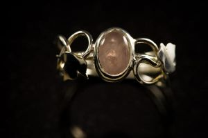 Maple Rose Ring -new by Adornments