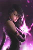 Psylocke by themimig