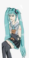 Hatsune Miku - Roughie by 123carrottop
