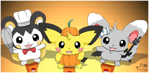 Halloween Pokes by pichu90