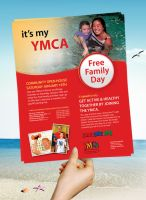 Flyer For YMCA by dRoop