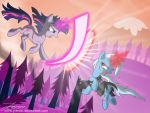 The Magic Duel by Jrenon