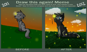 Draw this again meme by MistDapple