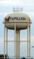 Papillion Water Tower by primowalker
