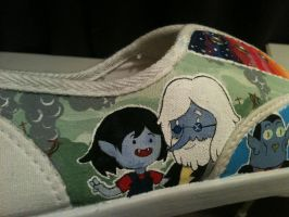 Adventure Shoes WIP Simon and Marcy 'Not Broken' by PirateTabby