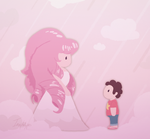 Rose and Steven by Imaplatypus