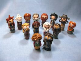 Wobbles: Thorin and Company by okapirose