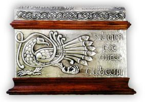 CELTIC CHEST 4 - FRONT. by arteymetal