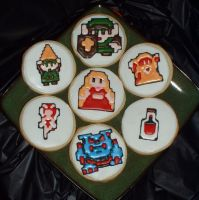 Legend Of Zelda Cookies by Afina79