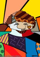 Romero Britto by manohead