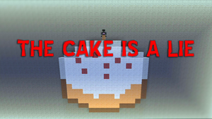 Minecraft - The Cake Is A Lie by DarkVidenge