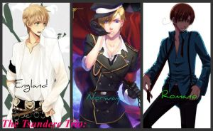 APH Tsundere Trio (My Own Version) by PIRIHETALIA12