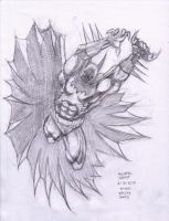 Kelley Jones Batman 6-16-2014 by myconius