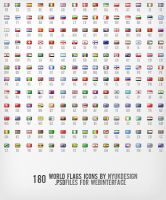 World Flags Icons by nyukdesign