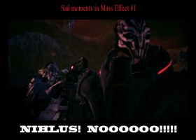 Sad moments in Mass Effect by maqeurious