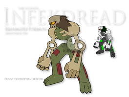 Fake Pokemon - Infekdread by Prinny-Dood