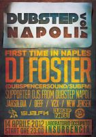 DUBSTEP NAPOLI Vol.4 - MANIFESTO by APgraph