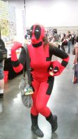 lady Deadpool by dottypurrs