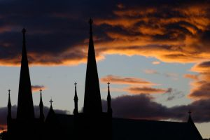 Sunbacked Steeples by theDexperience