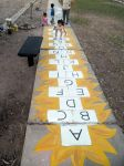 learning and play / Hopscotch-Alphabet by Johnny-Aza