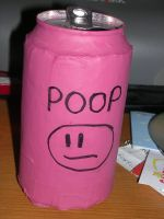 poop can by YogaFroga