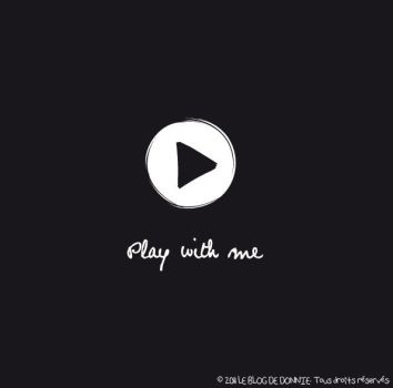 Play with me by Donniie