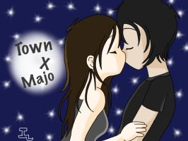Town X Majo :3 by Merlinathecat