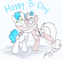 Belated Birthday Wishes by PitterPaint