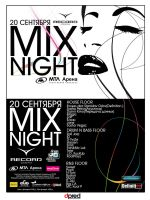 MIXNIGHT Flyer by DPRED