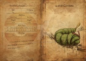 NO.010 Caterpie by Mummy-fei