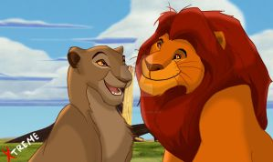 The Lion King - Mufasa and Sarabi by Diego32Tiger