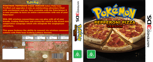 Pokemon Pepperoni Pizza Version Cover by Mabeanie