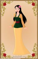 mulan yellow by monsterhighlover3